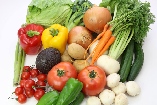 沢山の野菜の画像