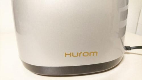 ヒューロムスロージューサーのロゴの画像