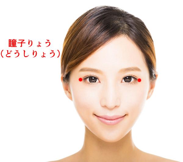 ツボ瞳子りょうの位置画像