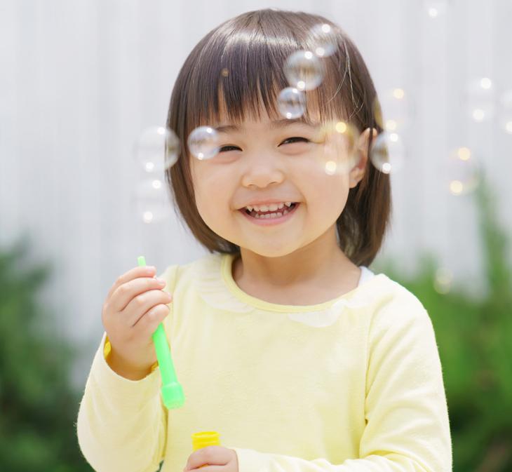 子供のほうれい線の画像