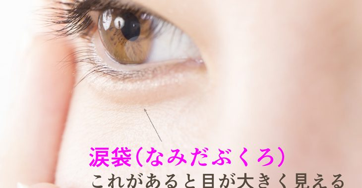 涙袋の画像