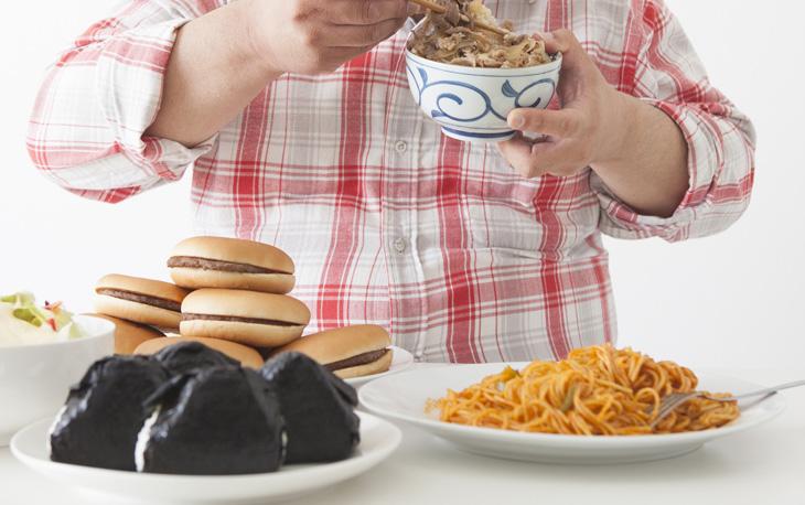 食事の乱れのイメージ画像