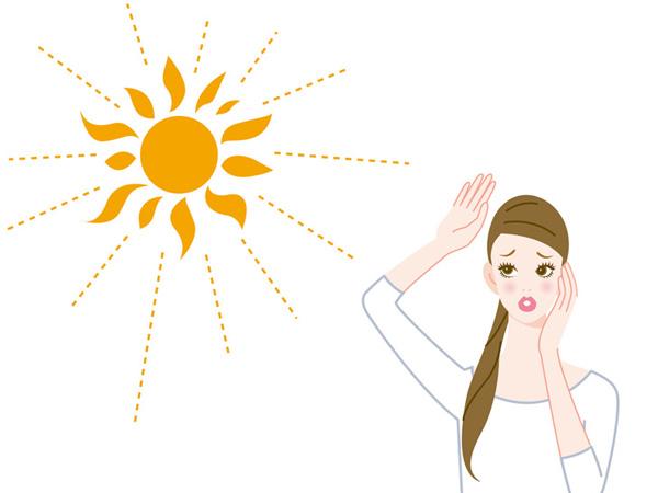 紫外線が肌のたるみを招く説明画像