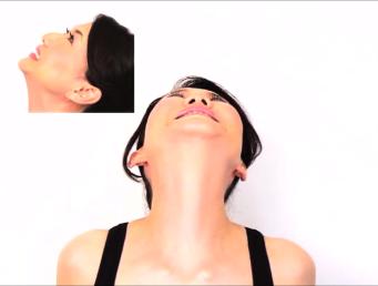 顔のたるみ体操7