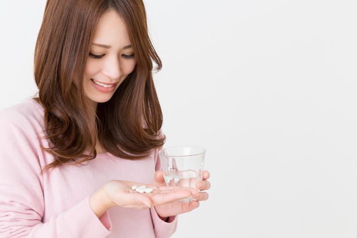 顔のたるみ用サプリメントの効果的な飲み方のイメージ画像